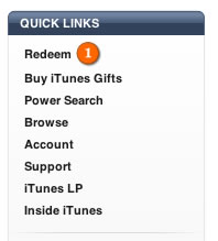 redeem a US iTunes gift card from South Africa